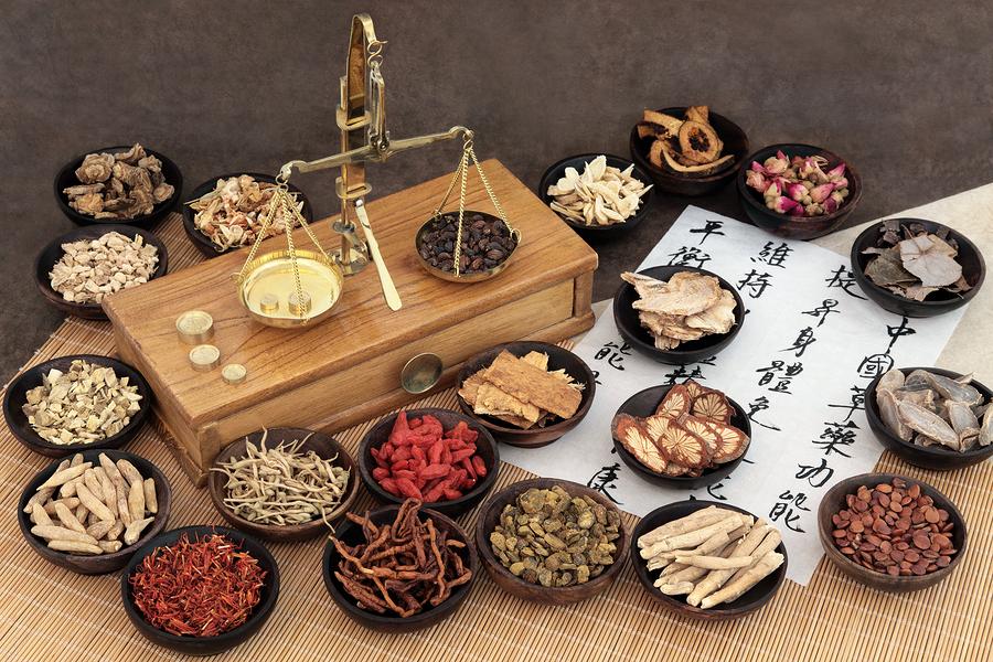 Diät, um Gewicht mit chinesischer Medizin zu verlieren